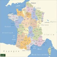 carte france departements superficie