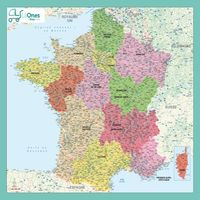 carte france regions villes hq