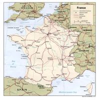 carte france reseau routier